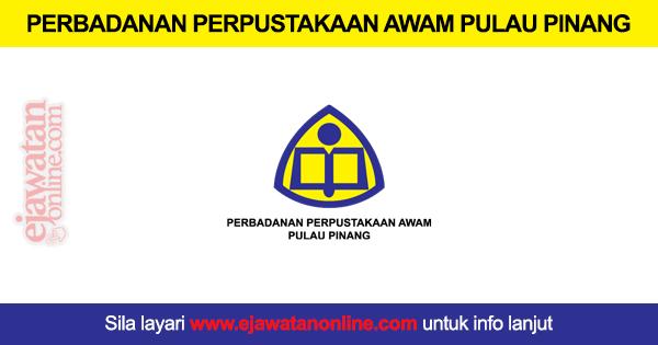 Perbadanan Perpustakaan Awam Pulau Pinang 13 September 2016 Jawatan Kosong 2020