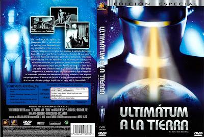 Carátula dvd: El día que paralizaron la Tierra (Ultimatum a la Tierra)