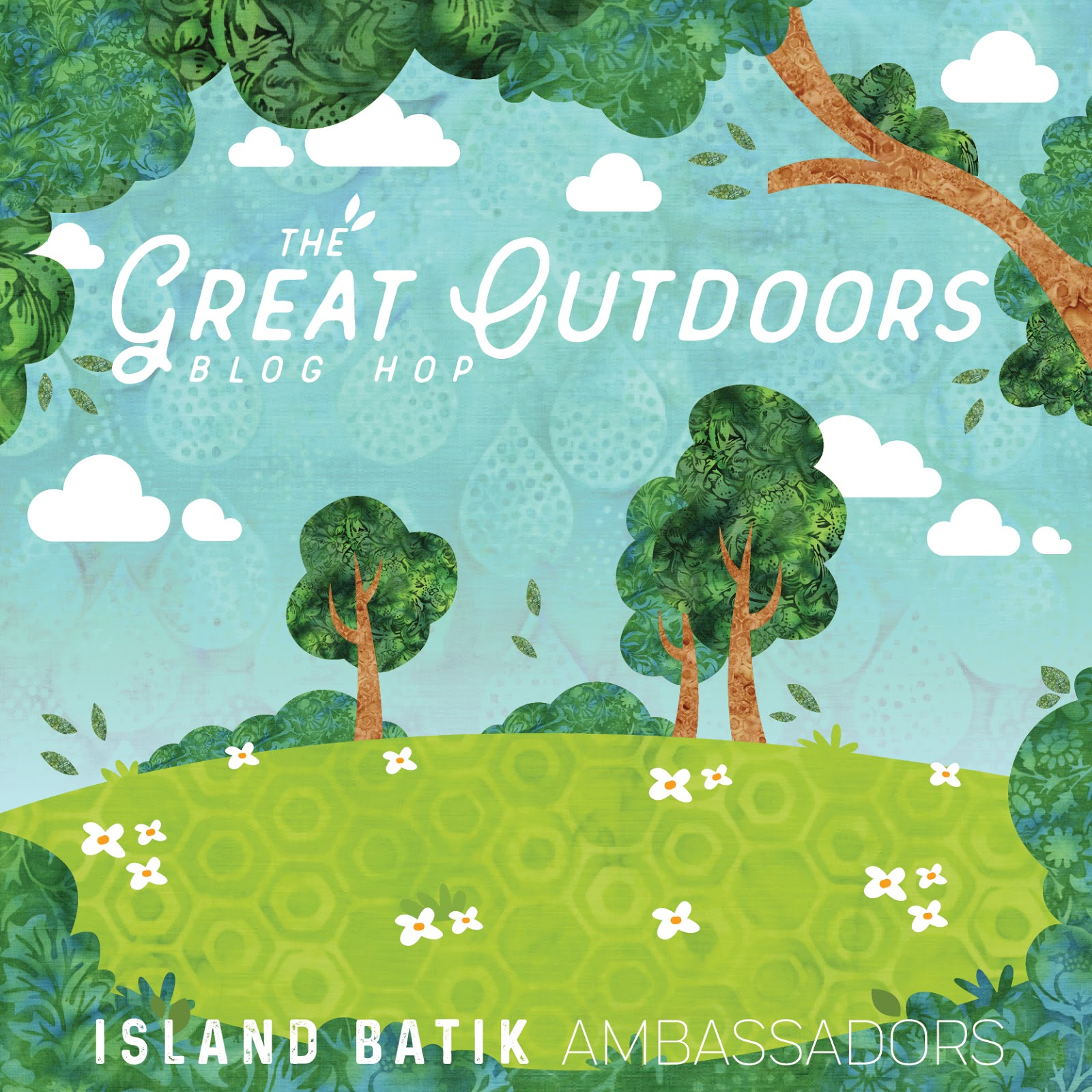 Today Is Day 7 Of Island Batiks The Great Outdoors Blog Hop