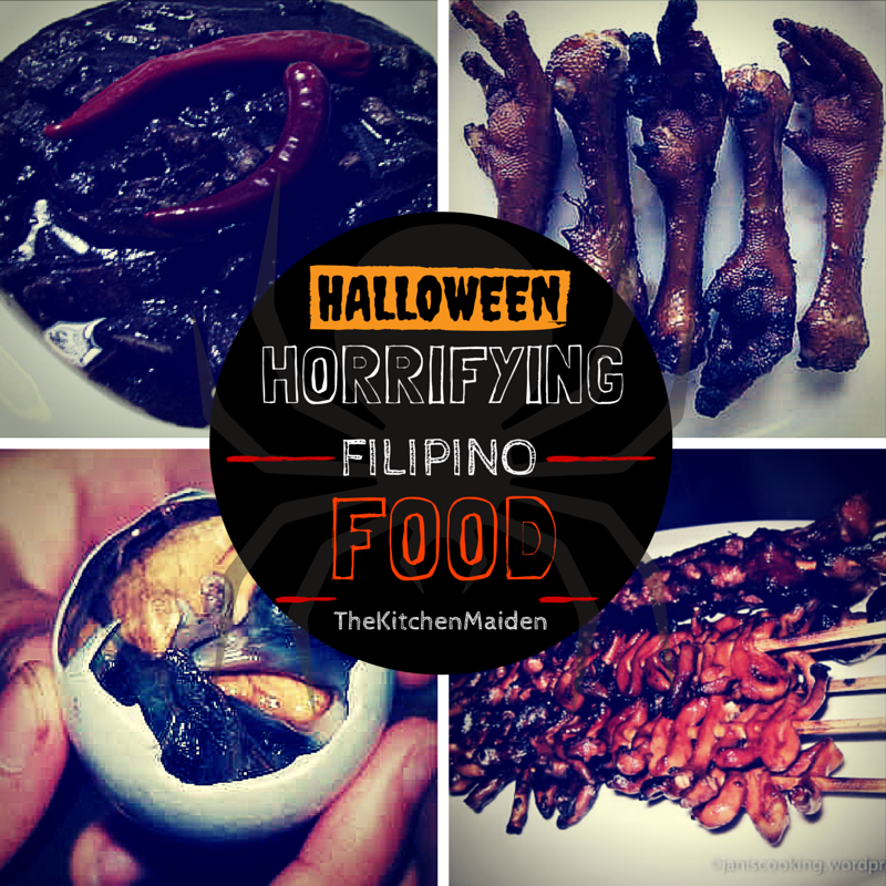 filipino food halloween ideas