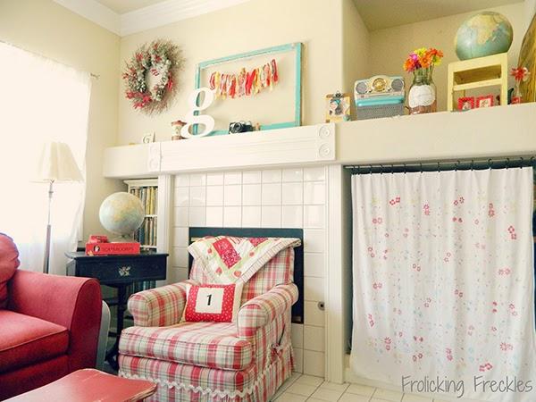 Creative living room