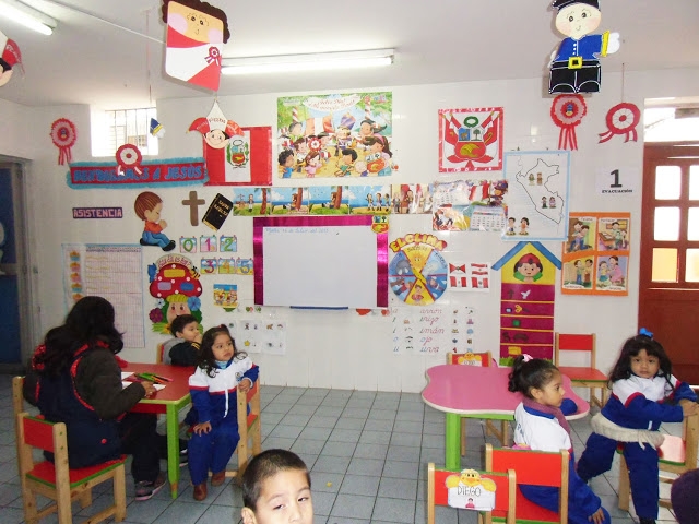 Ambientaci n fiestas patrias 28 de julio preg ntale al for Decoracion 9 de julio primaria