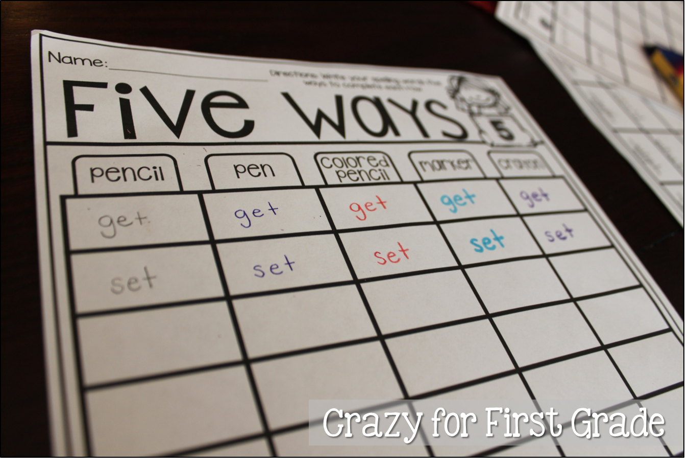 Word Work Made Easy