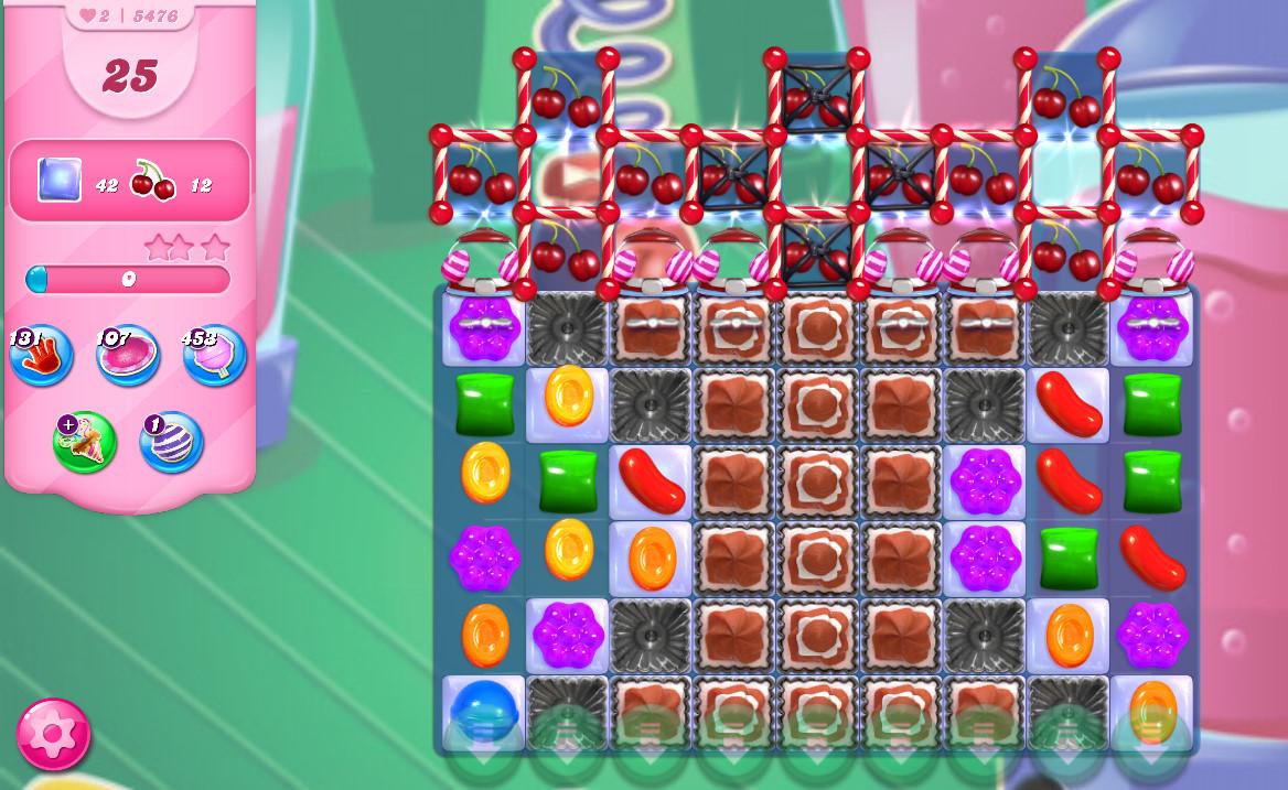Candy Crush Saga level 5476