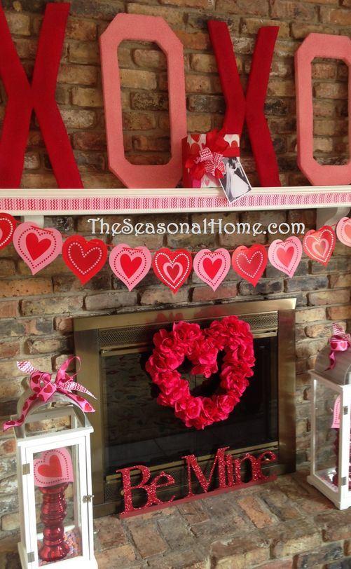 Valentine Kisses & Hugs (D.I.Y. Decor & Gift Idea!)
