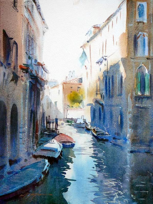 Is Synthetic Oil Better >> Art Of Watercolor: David Taylor. Interview.