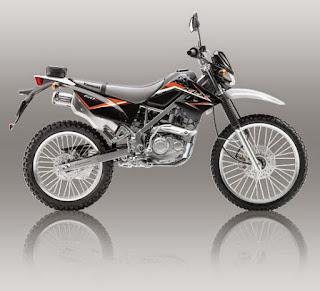 KLX L 150 Hitam