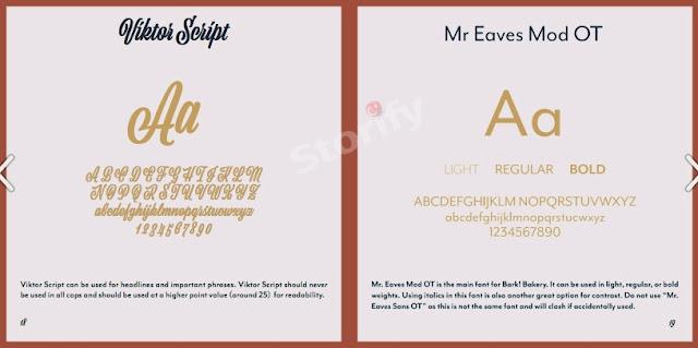 yazı tipi font seçimi
