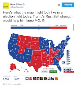 You Might Notice a Trend: What If Trump's Campaign Hurts the ... on 2008 senate map, new york senate elecction map, 2012 senate races map, 2010 ny districts map, 2015 senate map, ca gop map, democrat population map, election map, 2012 battleground map,