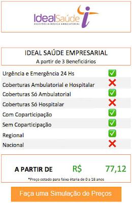 Planos de Saúde Ideal Empresarial