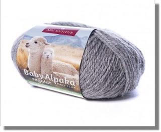 Garantiert ungefärbte Babyalpakawolle