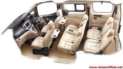 Interior mobil Nissan Evalia