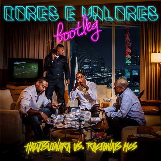 "Hadji Suinara faz remix da musica ""Cores e Valores"" do Racionais Mc's"
