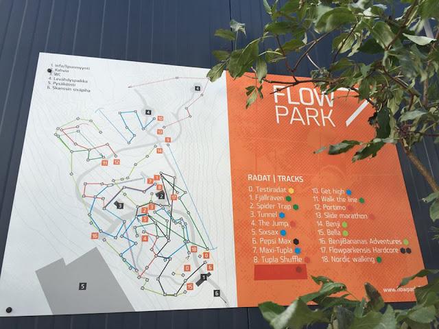 Elämyksiä köysiseikkailupuistoissa Suomessa ja ulkomailla 6