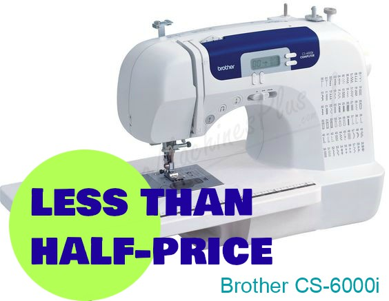 Less than half the price today - Brother Sewing Machine
