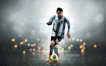 Wallpaper: The one and only - Leo Messi