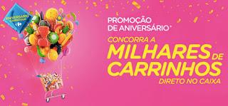 Promoção Aniversário Carrefour 2017