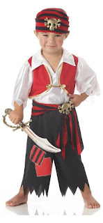 Ahoy Matey Pirate Costume Child Toddler