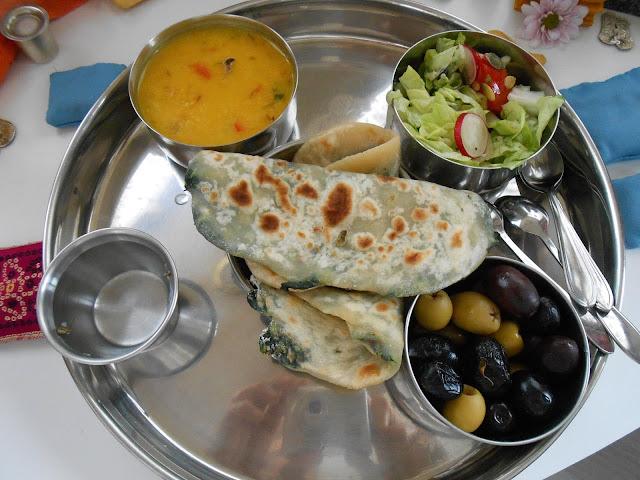 indijski kruh hljeb hleb