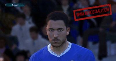 PES 2017 Eden Hazard Face