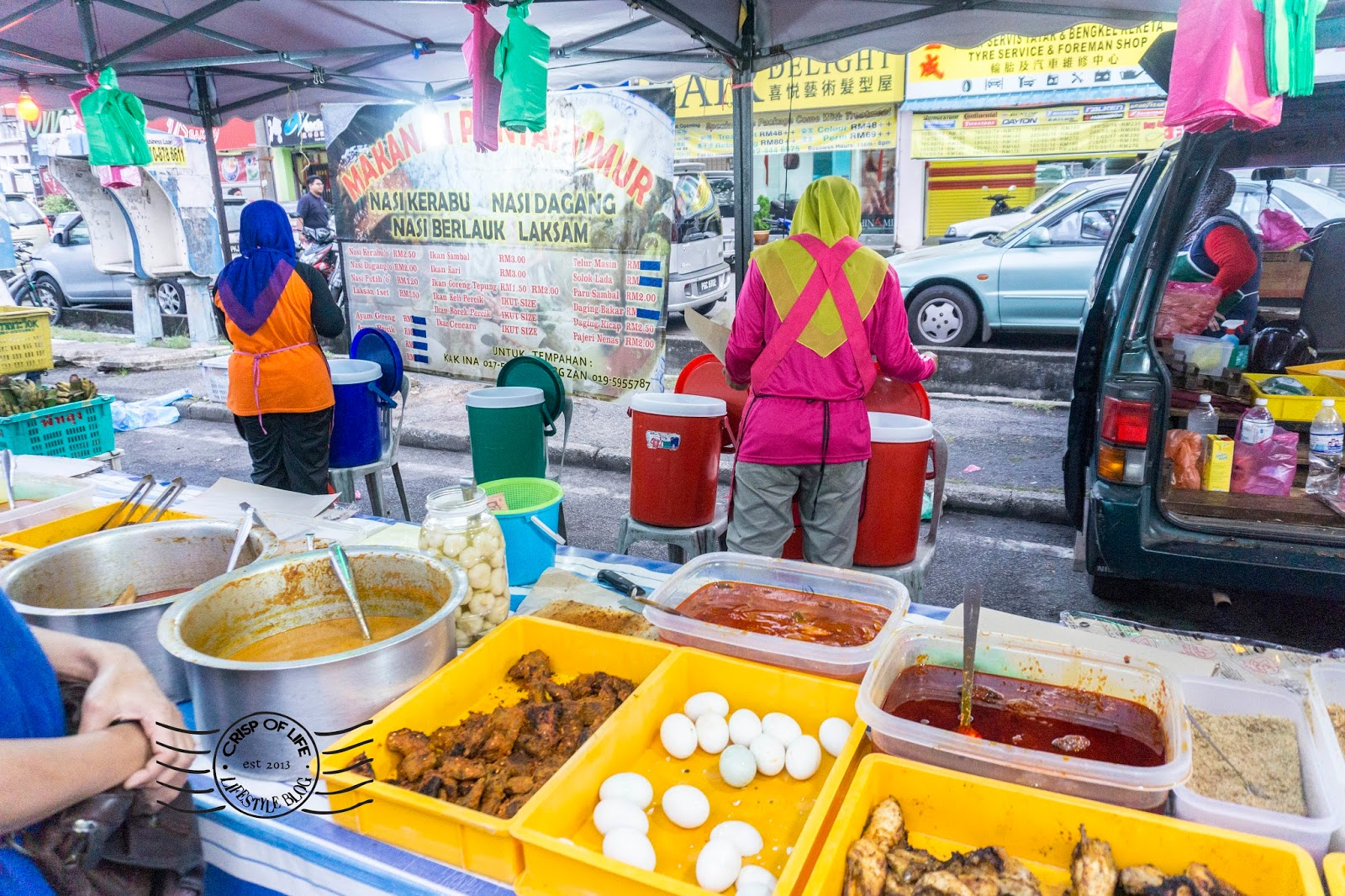 Sungai Dua Saturday Night Market