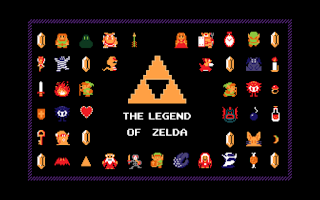 Sprites del juego The Legend of Zelda