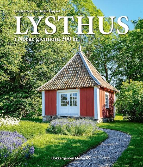 Historien om lysthus i Norge. Bokomslag. Foto Frøyset. Furulunden