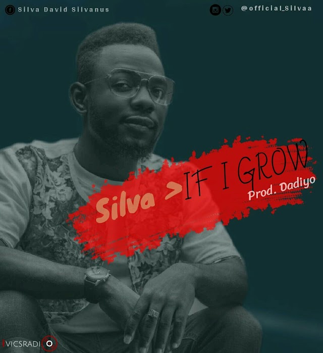 #MUSIC: Silva - If i grow (prod. Dadiyo Charlse)