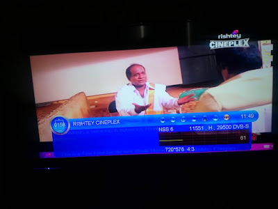 Rishtey Cineplex started regular transmission on DD Free dish