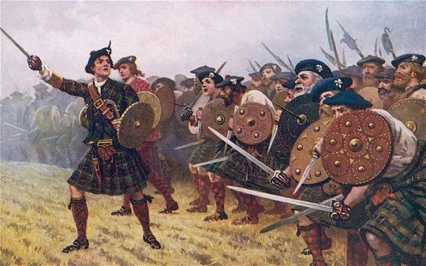 guerreiros escoceses