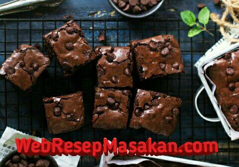Brownies Mengkilap, Brownies Mengkilap ala bu fat, Resep brownies mengkilap bu fat,