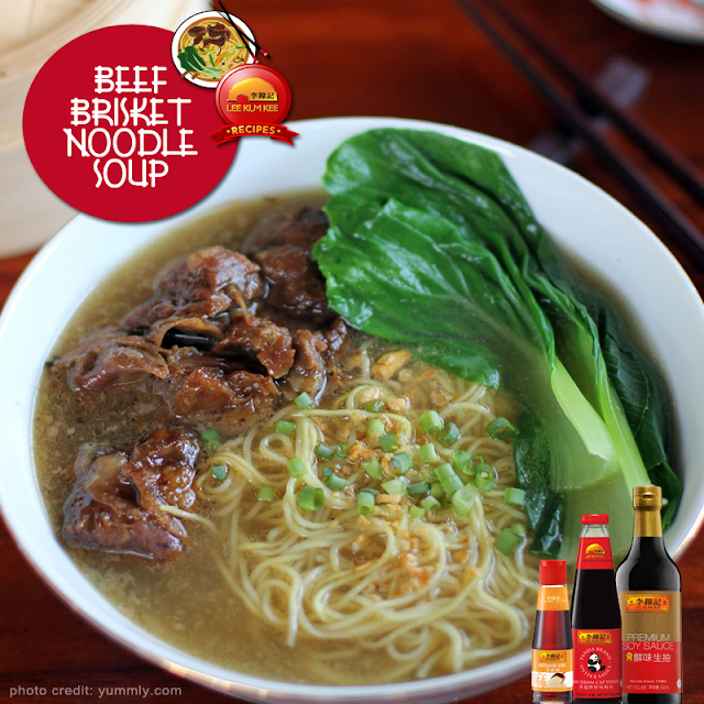 Beef Brisket Noodle Soup Recipe