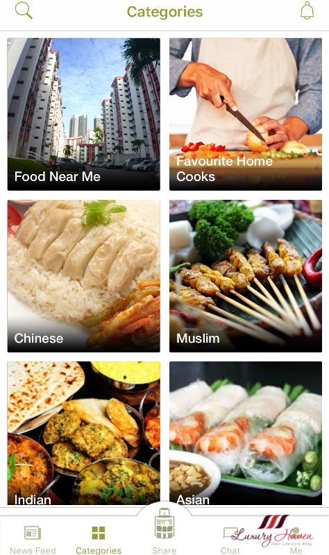 download share food mobile app for singaporeans
