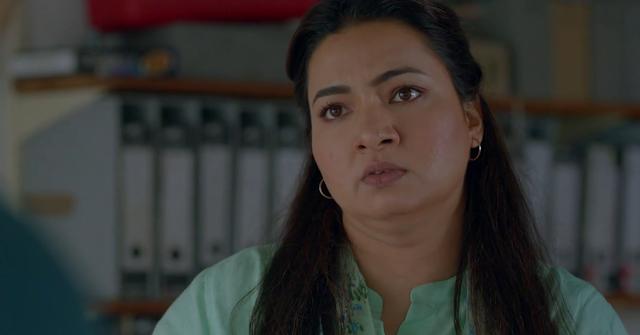 Grusha Kapoor in Karenjit Kaur