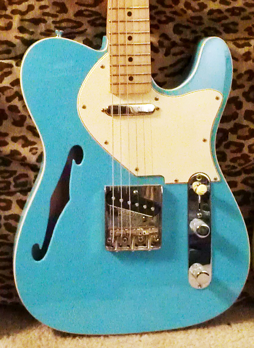the ones that got away daphne blue thinline telecaster project. Black Bedroom Furniture Sets. Home Design Ideas