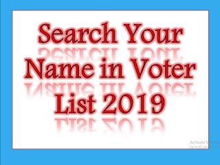 Voter List 2019