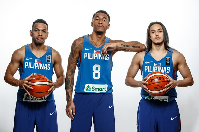 List of Philippine Basketball Team Roster 2018 Asian Games Indonesia