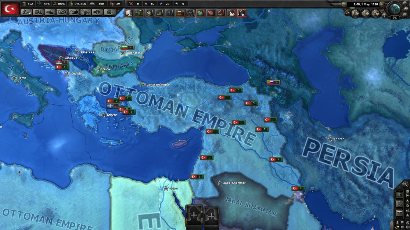 Ottoman - HOI4 - Setting Up