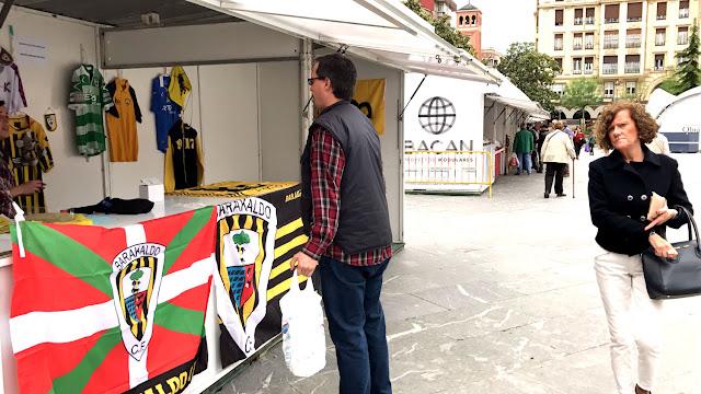 Feria del Barakaldo Club de Fútbol en Herriko Plaza