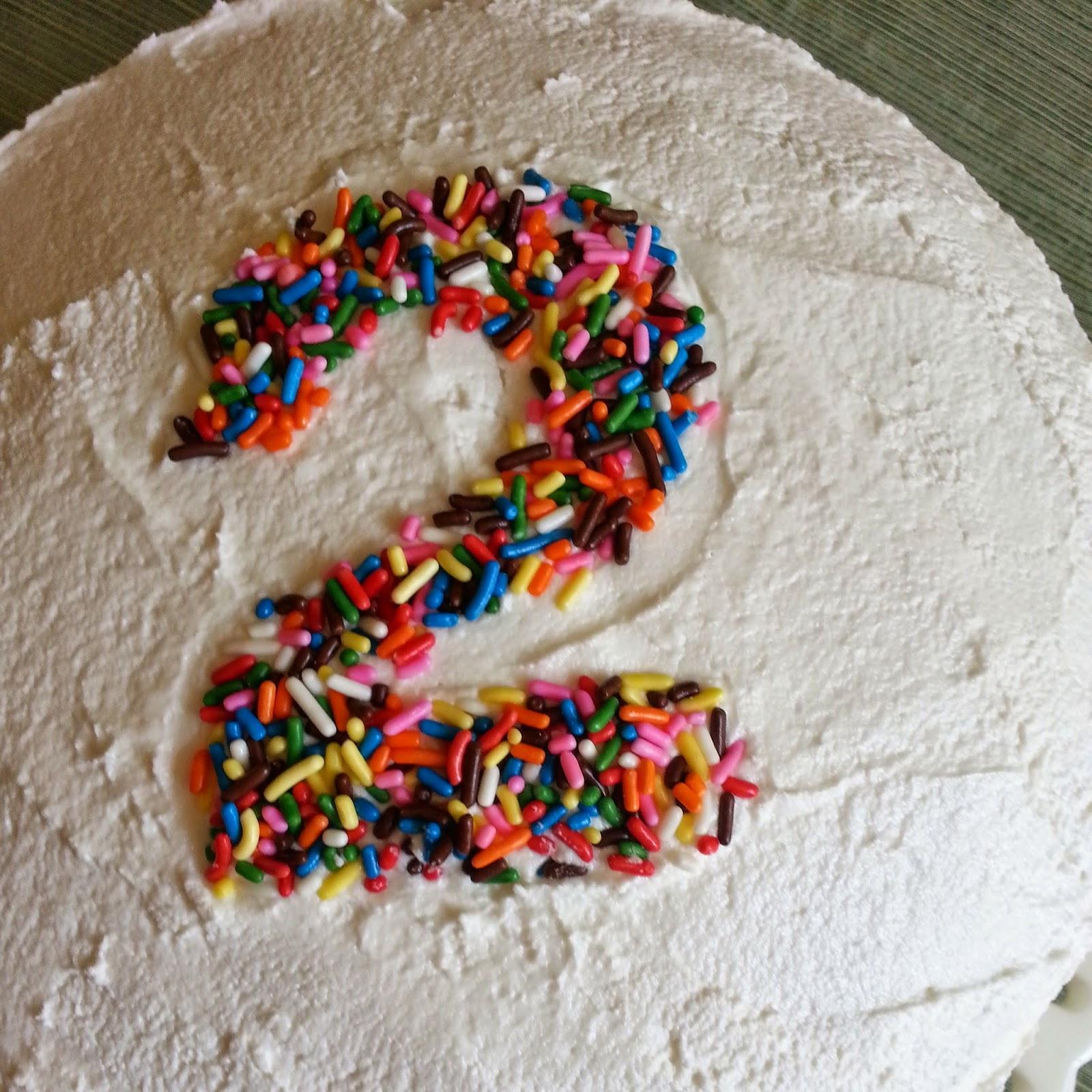 Mamacado Easy Birthday Cake Decoration Sprinkle Numbers No Cookie