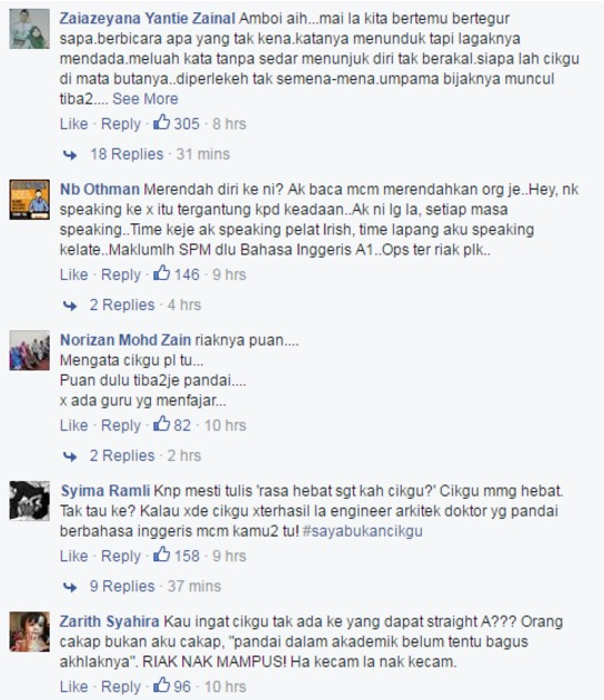 """""""Dengan Melayu Cakap Melayu lah!"""""""