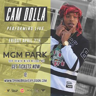 Cam-Dolla-Spring-Break-Explosion-Flyer