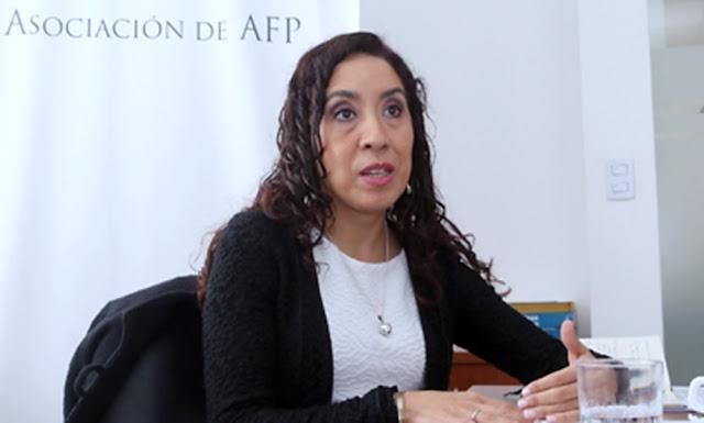 Giovanna Prialé, presidenta de AAFP