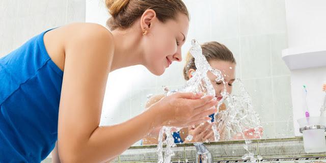 Kesalahan Mencuci Wajah