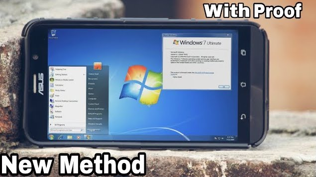 How to Install Windows 7 on Any Android Phone using Limbo