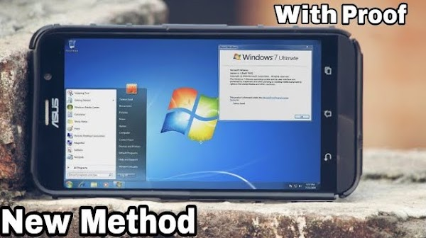 How to Install Windows 7 on Any Android Phone using Limbo Emulator.....!!!