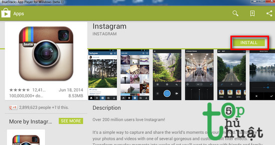 Tải Instagram về cho PC
