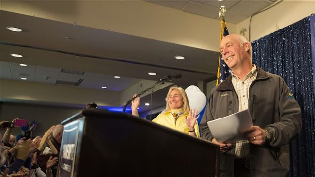 US Republican candidate Greg Gianforte wins Montana House seat
