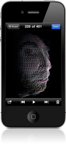 99 cent Trimensional App turns the iPhone 4 into a 3D scanner
