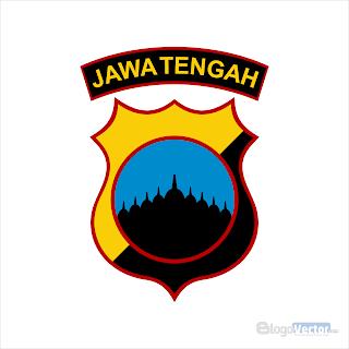 Polda Jawa Tengah Logo vector (.cdr)